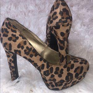 Mossimo Cheetah Print Heel